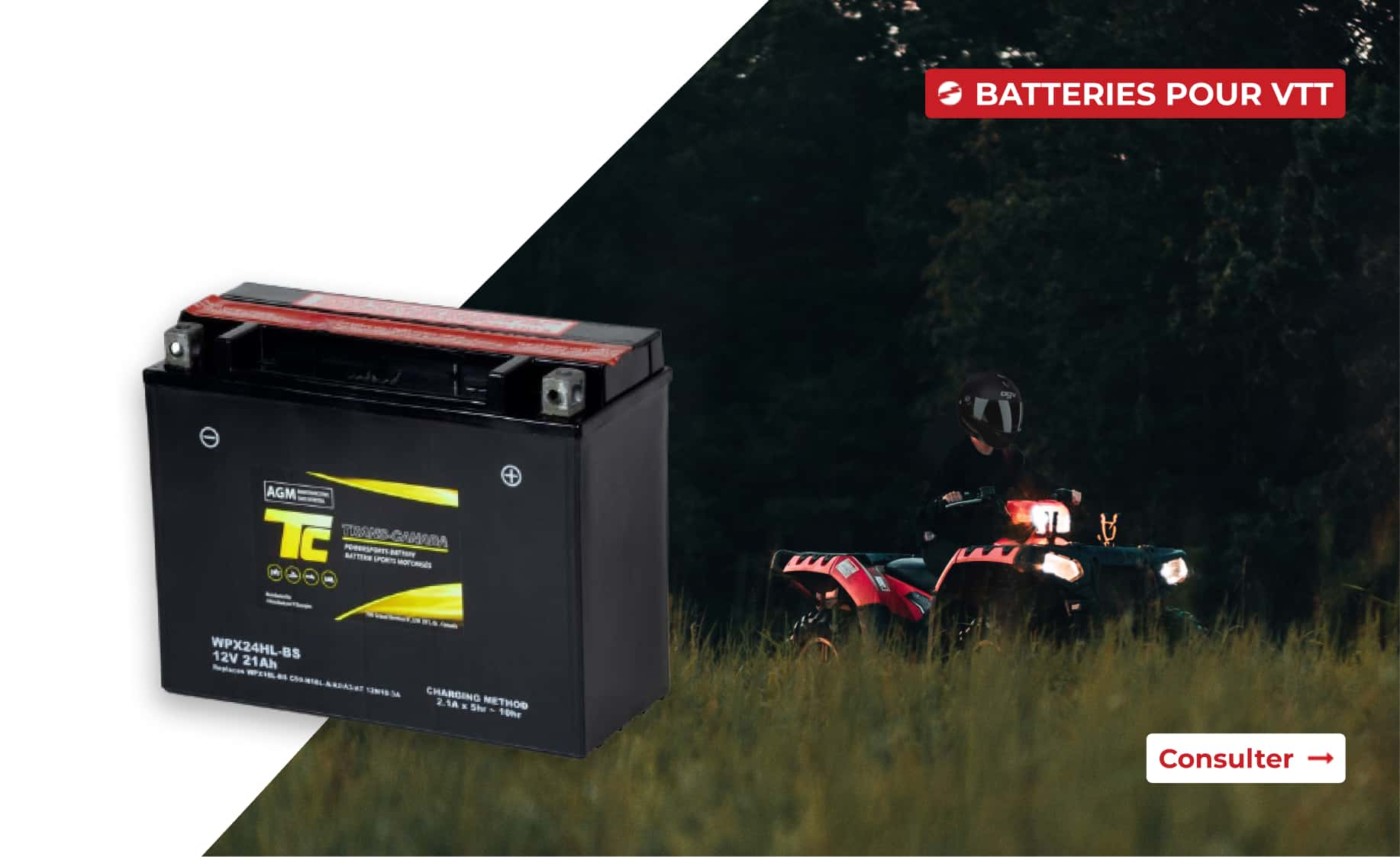 Batteries pour motomarines